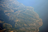 Coast of Lebanon from Madfoun south to Byblos