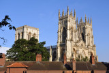 York Minster - all 3 towers are 60m (200 ft) tall
