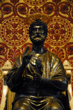 Bronze statue of St. Peter (5th or 13th C.)