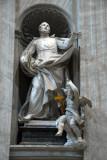 St. Camillus de Lellis (1550-1607) founder of the Camellians, by Pietro Pacilli, 1753