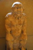 Statue of Bes, patron genius of pregnant women, Ptolemaic Period 3rd-2nd C. BC
