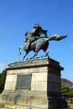 Statue of the samurai Kusunoki Masashige