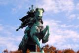 Kusunoki Masashi statue, Tokyo