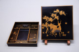 Lacquer writing box, Edo period, 18th C.