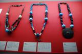 19th C. class bead necklaces from Hokkaido Ainu