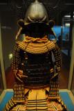 Gusoku-style armor with brown lacing, Edo period, 19th C.