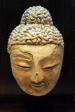 Head of Buddha, Khotan (China) 5th-6th C. AD
