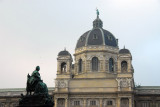 Kunsthistorisches Museu opened in 1891 to house the Hapsburg's collections