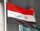 Latest Iraqi flag - without the 3 stars