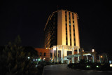 Erbil International Hotel at night