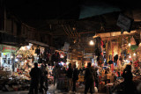 Erbil Bazar at night