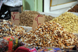 Nuts for sale in the Erbil Bazar