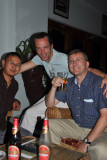 Me with the guide, Tandin, and a photographer who has been traveling with the Dalai Lama