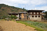 This region of Bhutan produced two rice crops per year