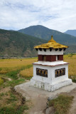 Stupa enroute to Chimi Lhakhang