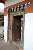 Doorway - Chimi Lhakhang