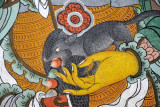 The mongoose held in the hand of Namthosey, the Guardian King of the North