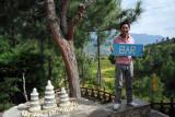 We found the bar! Zangdhopelri Hotel, Punakha