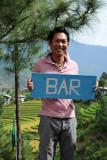 At the Bar, Zangdhopelri Hotel
