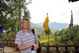 Me at the Zangdhopelri Hotel, Punakha