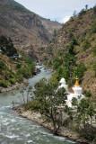 Pagodas of Dzong Khang Junction