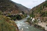 Chhuzom, where the Pachhu (Paro Chhu) and Thimchhu (Wang Chhu) Rivers join