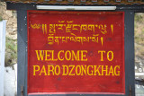 Welcome to Paro Dzongkhag