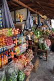 Market stalls at Chhuzom