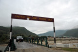 Bridge between town and Paro Airport for light vehicles only