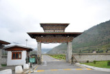 Arriving at Paro Airport on Departure Day