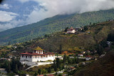 Initial climb from Paro Airport, Bhutan