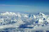 The Himalaya to the west of Everest