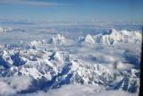 Great Himalaya Range - Cho Oyu on the right