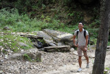 Hiking through the forest of Bhutan