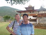 Me and Dennis at the Temple of the Divine Madman