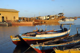 With most shipping moved to Port Sudan, only a small fishing fleet and the Jeddah ferry remains in Suakin