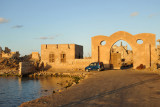 Causeway and gate to Suakin Island, Sudan