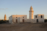 The two mosques on Suakin Island were restored 1866-1872