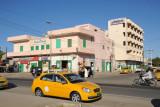 Port Sudan taxi along main street by the Okier Hotel
