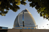 The five-star Burj Al-Fateh Hotel opened in 2008