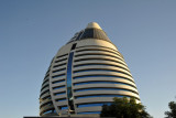 The Burj Al-Fateh was built by the Government of Libya
