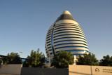 The Burj Al-Fateh's Libyan connections gave it the nickname Gadaffi's Egg