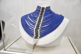 Man's bead collar of Venetian beads - Malwal Dinka Tribe, Baher al Ghazal