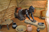 The Nuba Kitchen from the Tosomi Hills (not to be confused with Nubia), Sudan Ethnographic Museum