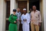 Karen & Trygve Inda with Ahmad of Raidan Travel & Tours and our driver, Mahmoud