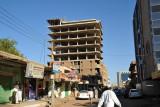 Construction pause, Malik Ave., Khartoum