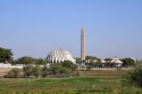 Al Nillan Mosque from White Nile Bridge