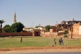 Football field by the Nile, Omdurman