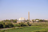 Al Nileen Mosque from the White Nile Bridge, Omdurman