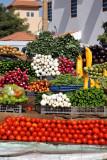 Vegetable stand along the Nile, Omdurman